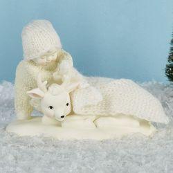 Warm Winters Nap Snowbaby Figurine Ivory