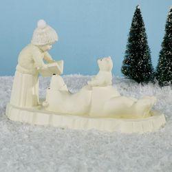 Polar Bear Tales Snowbaby Figurine Ivory