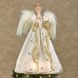 Glory Angel Tree Topper Ivory