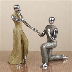 Proposal Statuettes  Set of Two