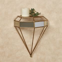 Nolan Wall Shelf Antique Gold