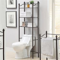 Kennedy Bathroom Space Saver Bronze
