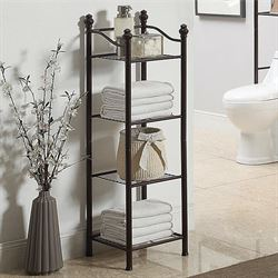 Kennedy Four Tier Etagere Bronze 4 Tier