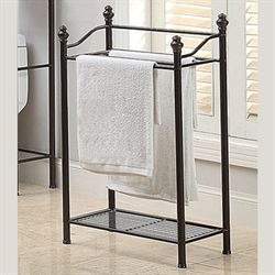 Kennedy Bathroom Towel Rack Bronze