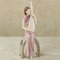 Asian Harmony Figurine Mauve