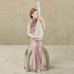 Asian Harmony Figurine Mauve