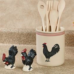 Rooster Kitchen Accessories Linen Set of Three