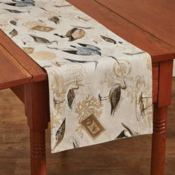 Marshland Table Runner Multi Earth 13 x 54