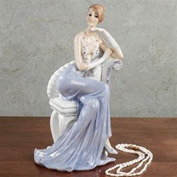 Gentle Beauty Figurine Blue