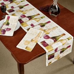 Chateau Winery Linens Multi Jewel Set of Three