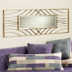 Scintilla Wall Mirror Antique Gold