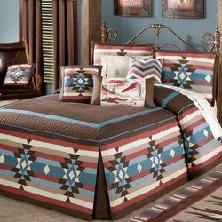 Frontier Grande Bedspread Chocolate