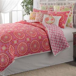 Dream Nest Cotton Quilt Rose Pink