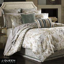 Seville Comforter Set Platinum Gray