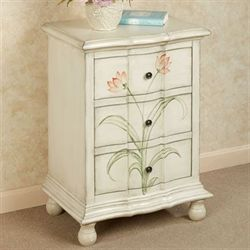 Alma Three Drawer Cabinet Ivory