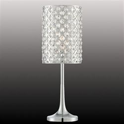 Keana Table Lamp Chrome