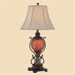 Camila Table Lamp Dark Bronze