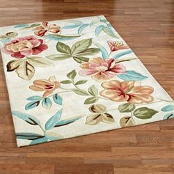 Flor Bloom Rectangle Rug Sand