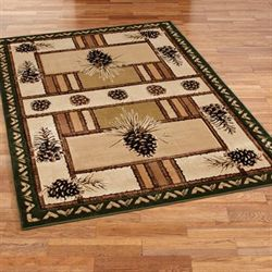 Pine Barrens Rectangle Rug Beige