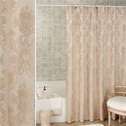 Bianca Shower Curtain Champagne 70 x 72