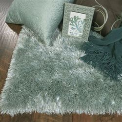 Fina Silky Rectangle Shag Rug