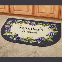 Grapevine Slice Personalized Mat 40 x 24