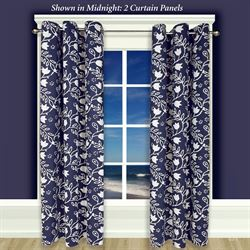 Garden Imprint II Grommet Curtain Panel