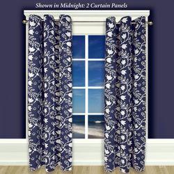 Garden Imprint II Grommet Curtain Panel