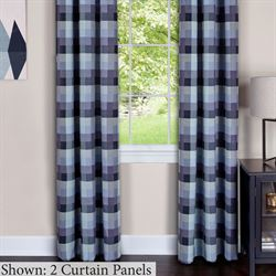 Harvard Grommet Curtain Panel Navy