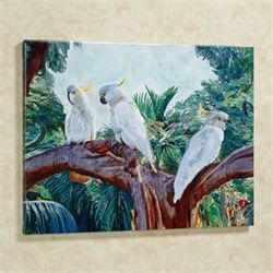 Cockatrio Cockatoo Canvas Art Multi Cool