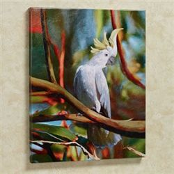 Cockatoo Canvas Art Multi Warm