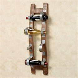 Stave Wall Wine Rack Walnut