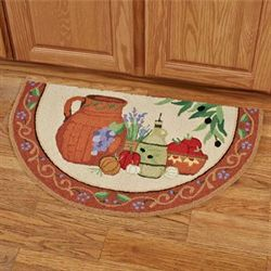 Heart of Tuscany Slice Rug Multi Warm Slice