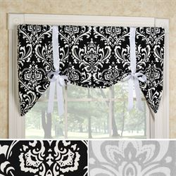 Regal Medallion Tie Up Valance 52 x 23