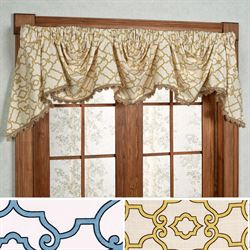 Arabesque Empire Valance 106 x 16