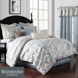Gracious Florence Comforter Set Steel Blue