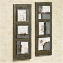 Sono Mirage Canvas Art Taupe Set of Two