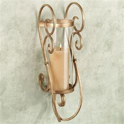 Castleton Wall Sconce Antique Gold