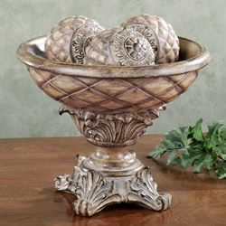 Anaya Centerpiece Bowl Only Light Almond