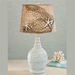 Seaside Table Lamp Pale Blue