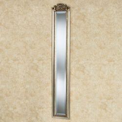 Lorette Draped Wall Mirror Panel Silver Gold