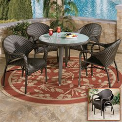 Free shipping on home bargains touch of class samara patio set gumiabroncs Image collections