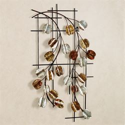 Vining Grace Wall Art Multi Metallic
