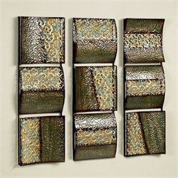 Intermission in Green Wall Panel Set Set of Three