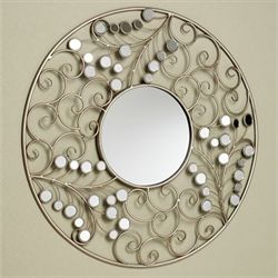 Alyssia Wall Mirror Champagne Gold