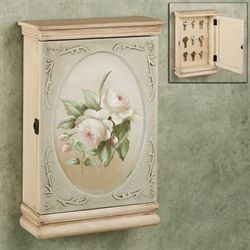 Roselyn Key Wall Cabinet Dark Beige