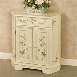 Bianca Storage Cabinet Light Cream