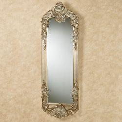 Gadsden Floral Wall Mirror Platinum Large