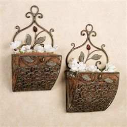 Palencia Wall Basket Set Cypress Set of Two