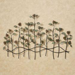 Dainty Flowers Wall Sculpture Multi Jewel